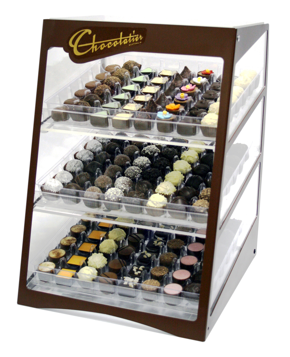 Chocolatier counter unit
