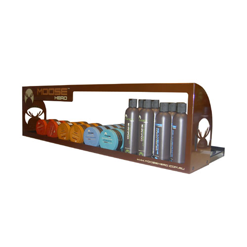 Moosehead shelf frame