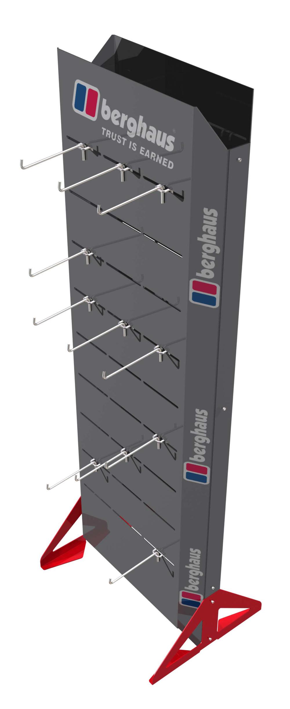 Berhaus hangsell floorstand
