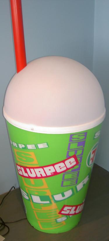 Giant Slurpee cup