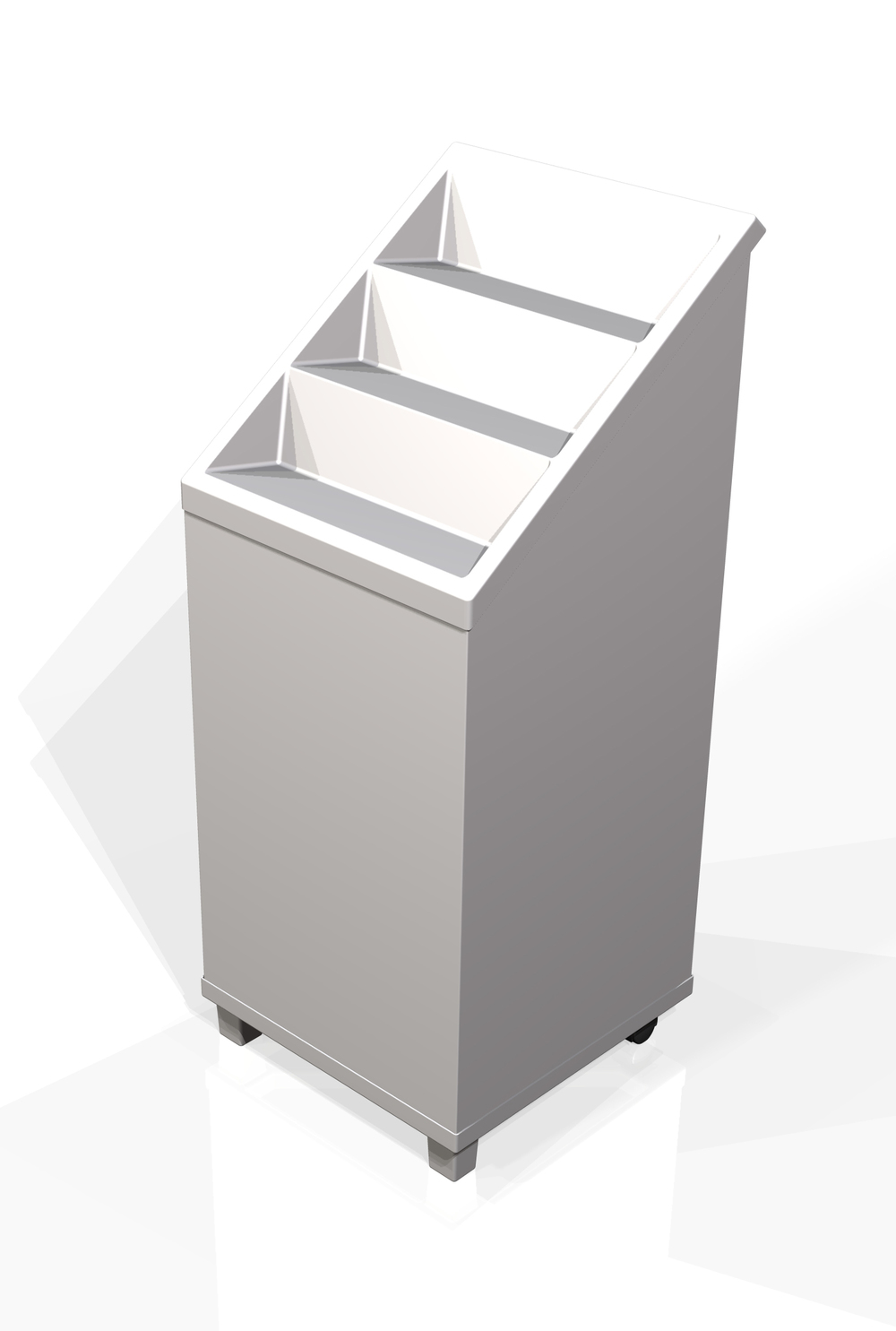 Generic stepped dumpbin