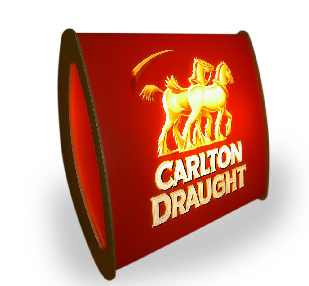 Carlton Draught lightbox