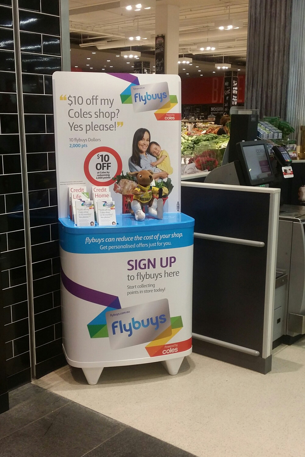 Flybuys recruitment podium