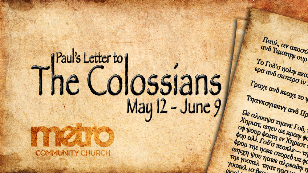 The Book Of Colossians