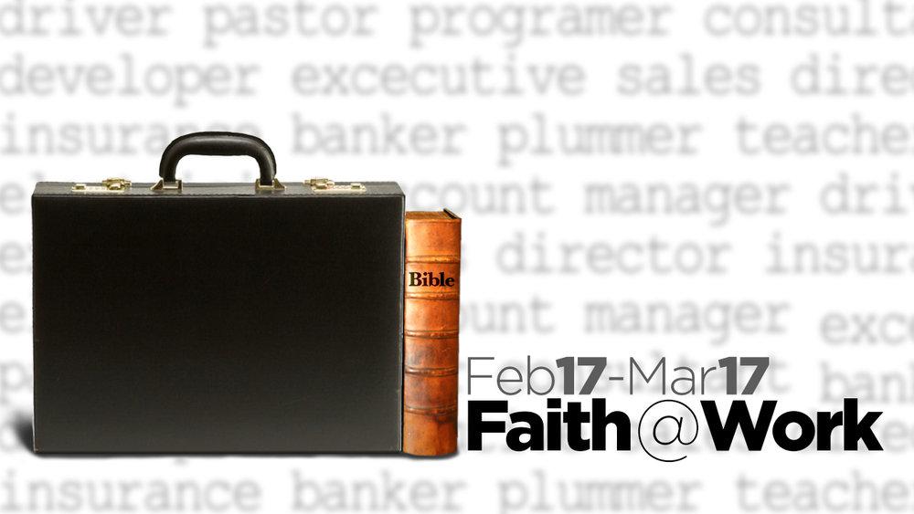 Faith @ Work