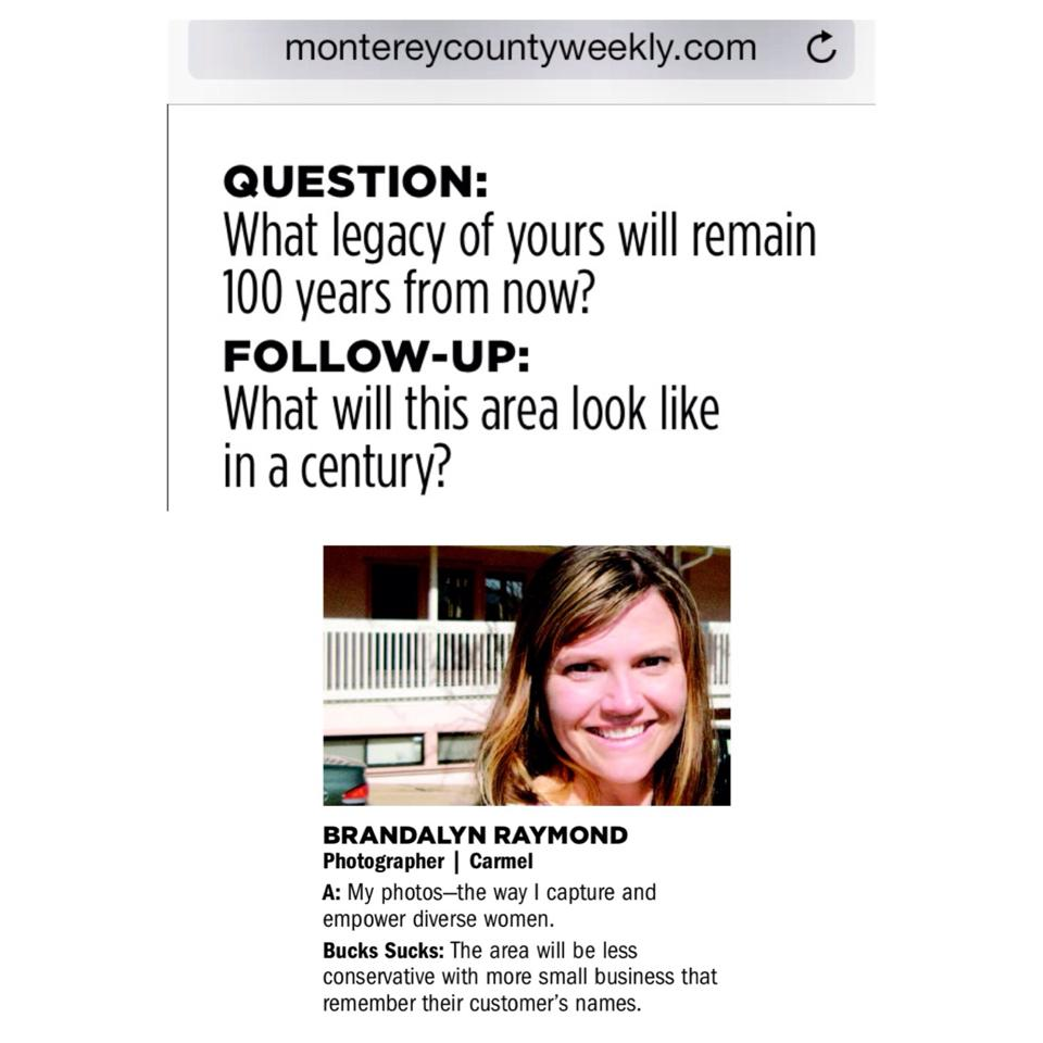 Monterey County Coast Weekly 2014 — Red Light Girls