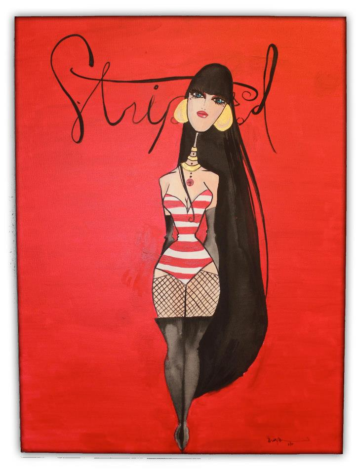 'Striped'