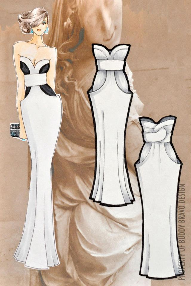 'Veiled Venus: Gown 2'