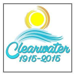Clearwater, Florida Centennial Logo Design