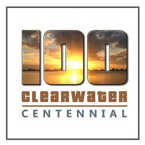 Centennial Logo for City of Clearwater, Florida