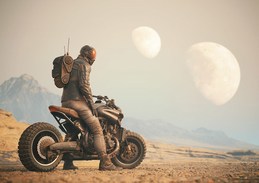 Dystopian Rider -