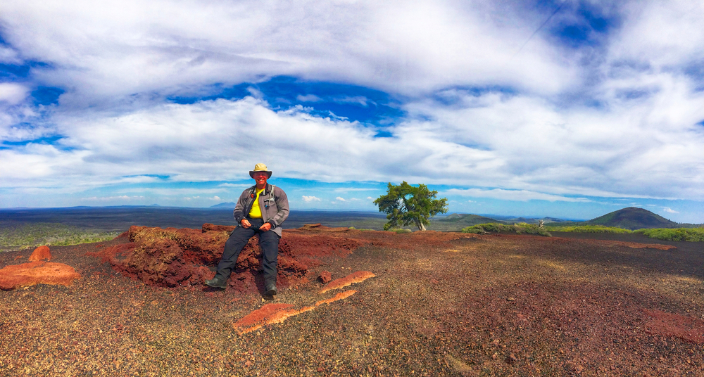On top of Inferno Cinder Cone, Craters of the Moon NP