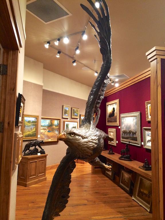 """Eugene Morelli's bronze """"Majesty"""""""