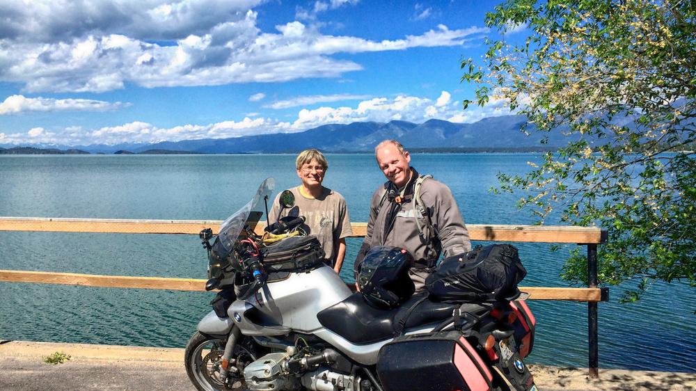 Flathead Lake, MT. Largest inland lake in USA.