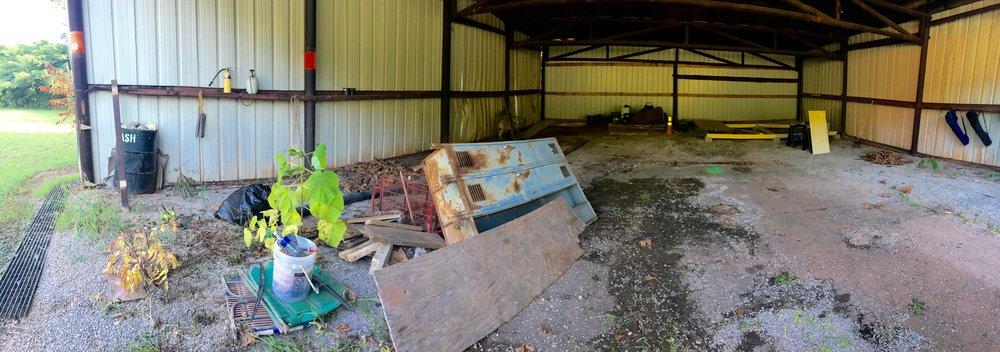 Hangar in need of rehab.