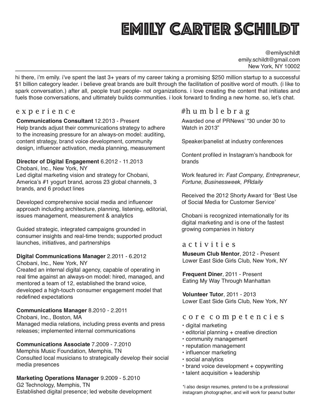 30 Regular Creative Marketing Resume cpa resume examples