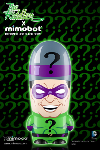 This grinning Riddler makes all your other USB drives jealous.