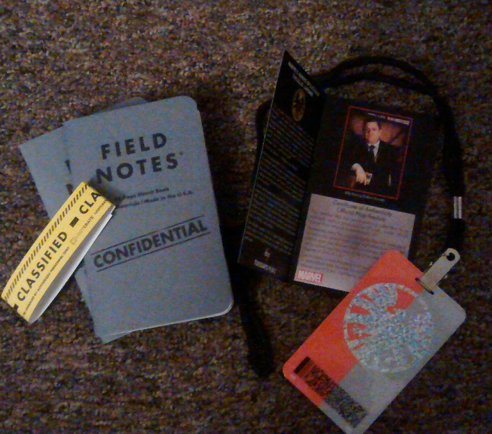 Field Notes & a Badge? It just got official!