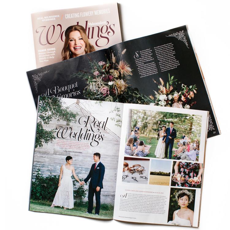 Published - Milwaukee Magazine 2016 Wedding Issue — Ellagraph Studios
