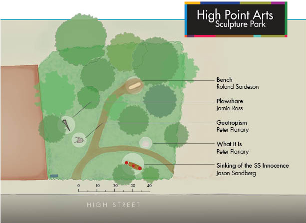 High Point Arts Sculpture Park Plan