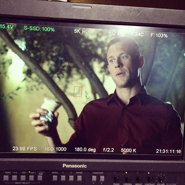 Dat falafel, tho. #1020films #markandeve #acting #onset