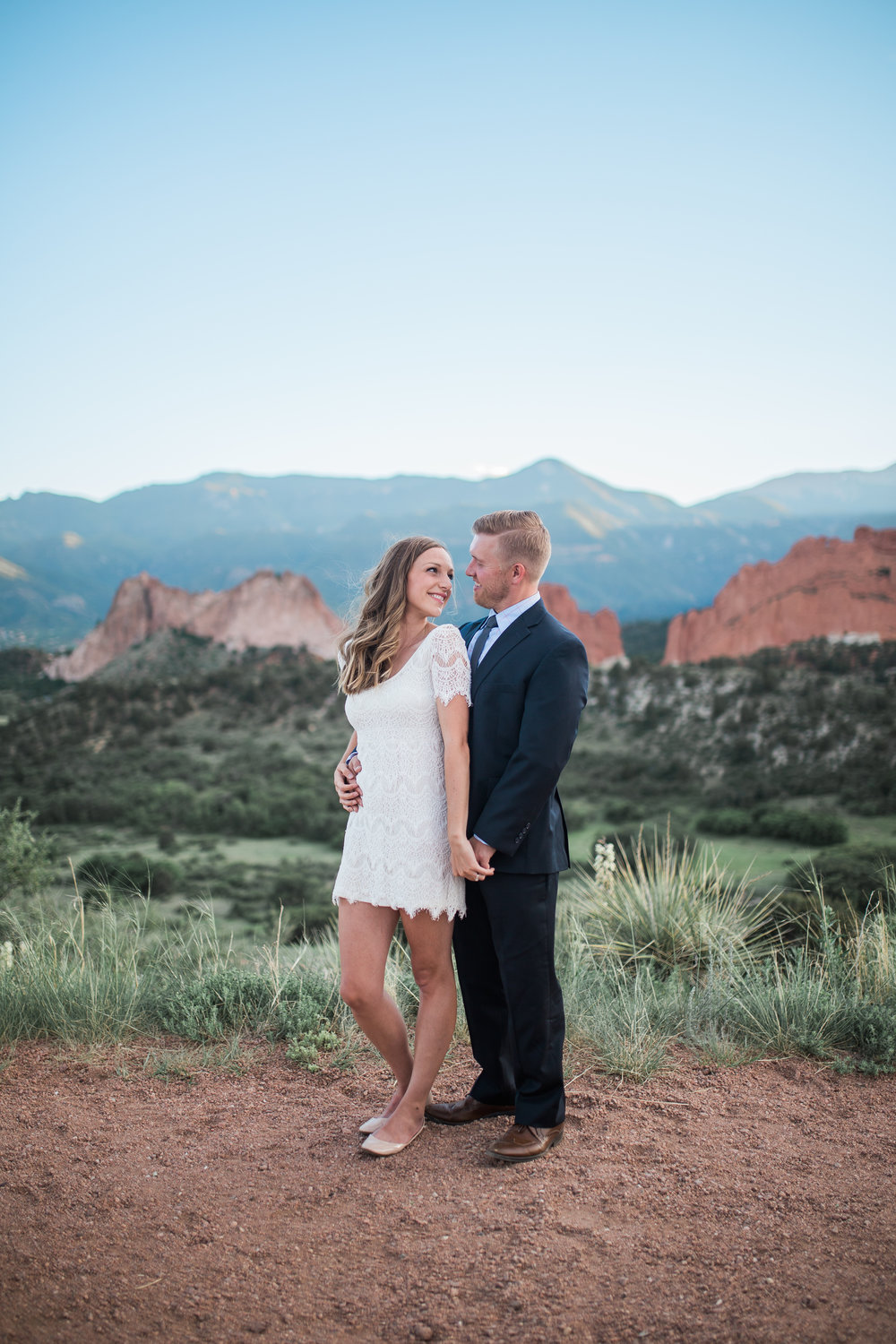 Nicole + Cameron - Garden of the Gods