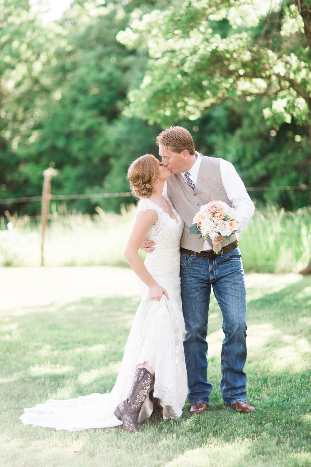 Alexis + Shawn - The Springs in Denton