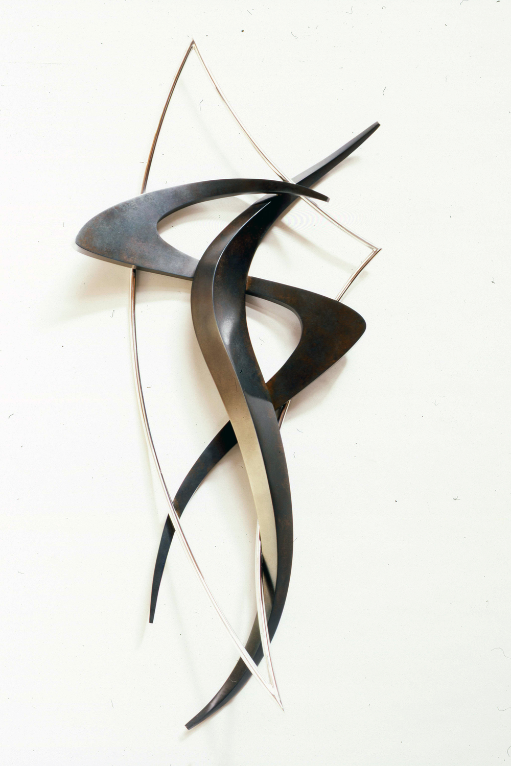 Entropy Series #45, bronze & stainless steel