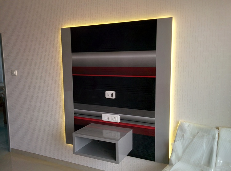 Bedroom #2: TV Unit