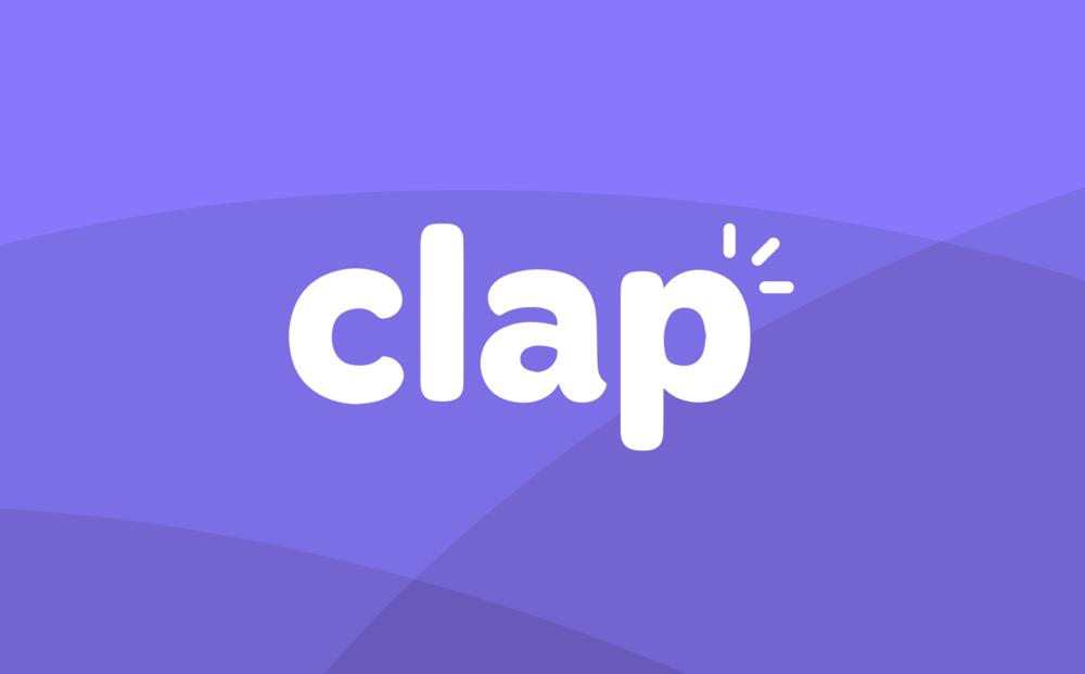 The Clap logo.