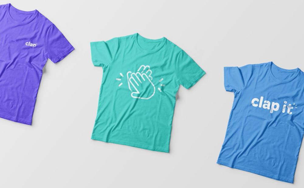Promotion t-shirts.