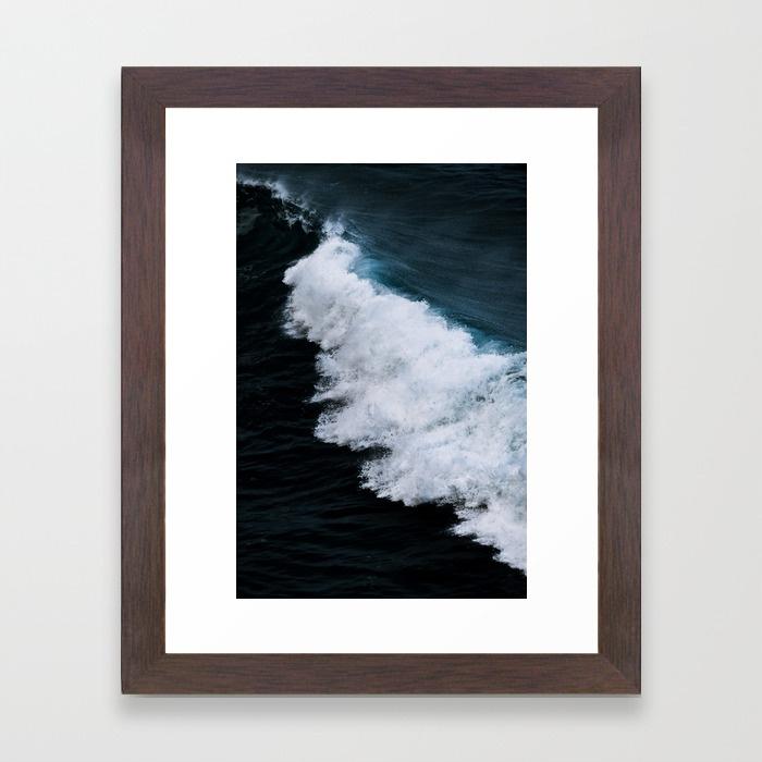 Powerful breaking wave in the Atlantic Ocean  by  Michael Schauer