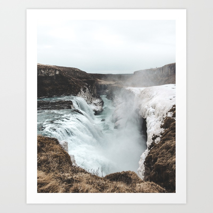 Gullfoss  by  Michael Schauer