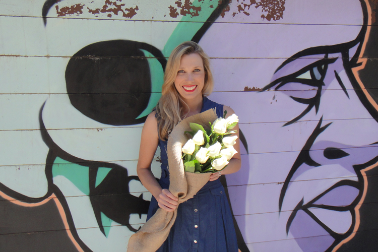 Founder of  DAILY Blooms , Courtney Ray.