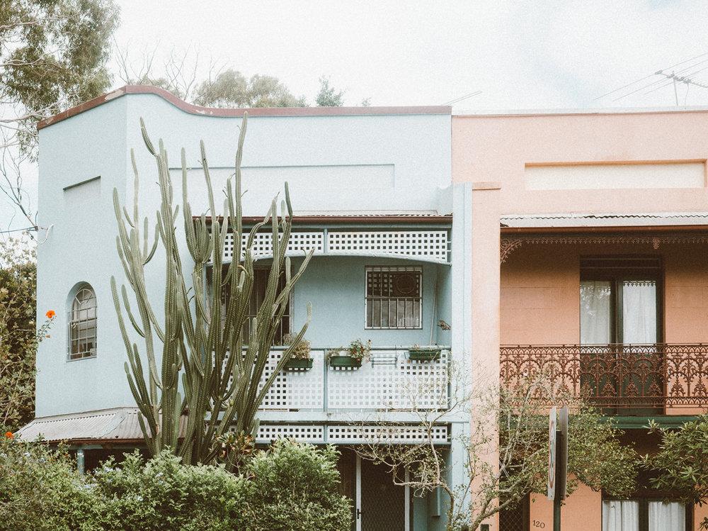 Pauline Morrissey_Sydney_Terrace Houses_Pastel Buildings_Paddington_Lifestyle Blogger