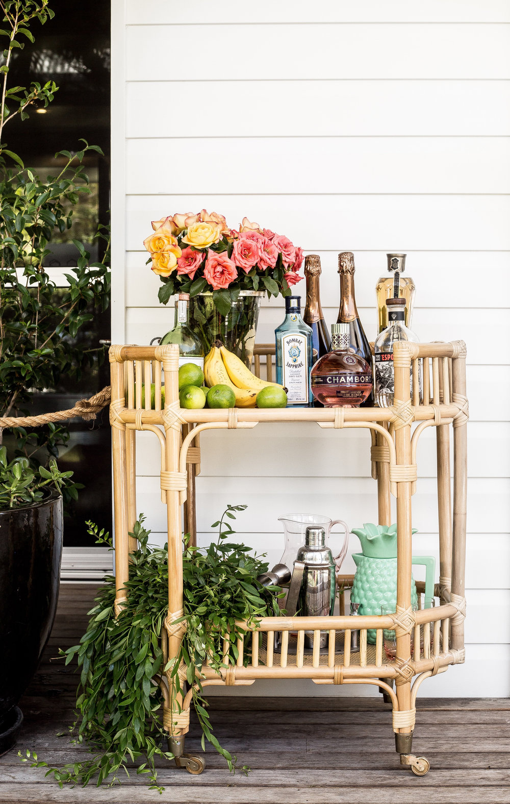 Bar Cart/Side Table - Byron Bay Chairs