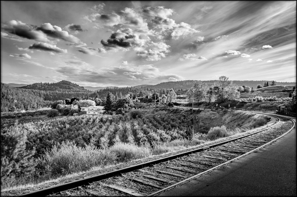 """Tracks through Wine Country"""