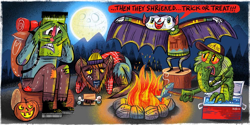 camp drac's spooky halloween