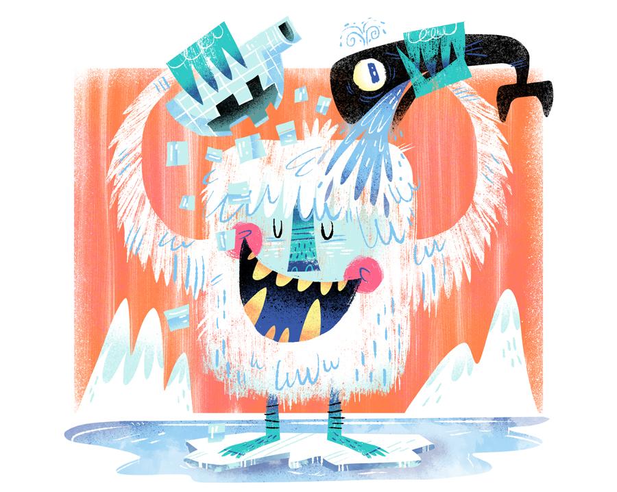 Ice Bucket doodle challenge