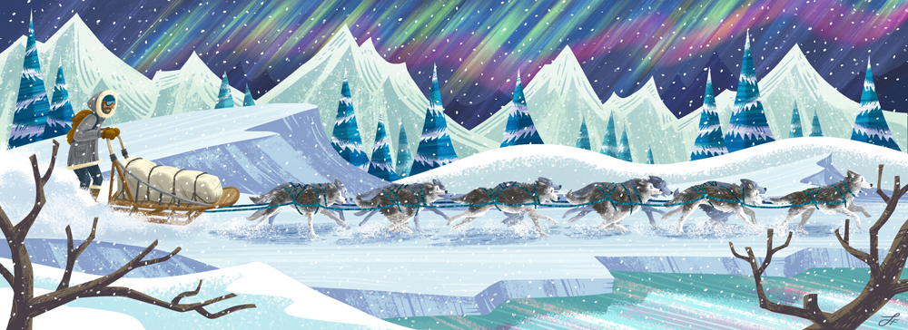 arctic adventure for TCA library event