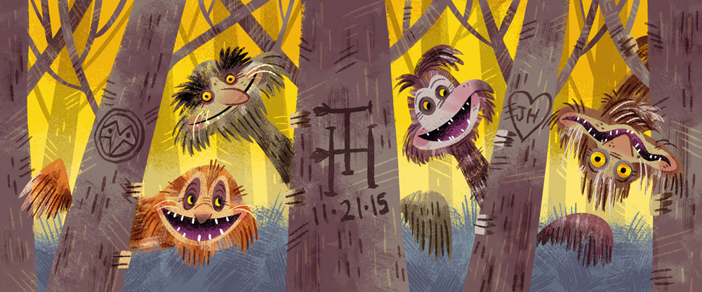 Jim Henson's Turkey Hollow film fan art