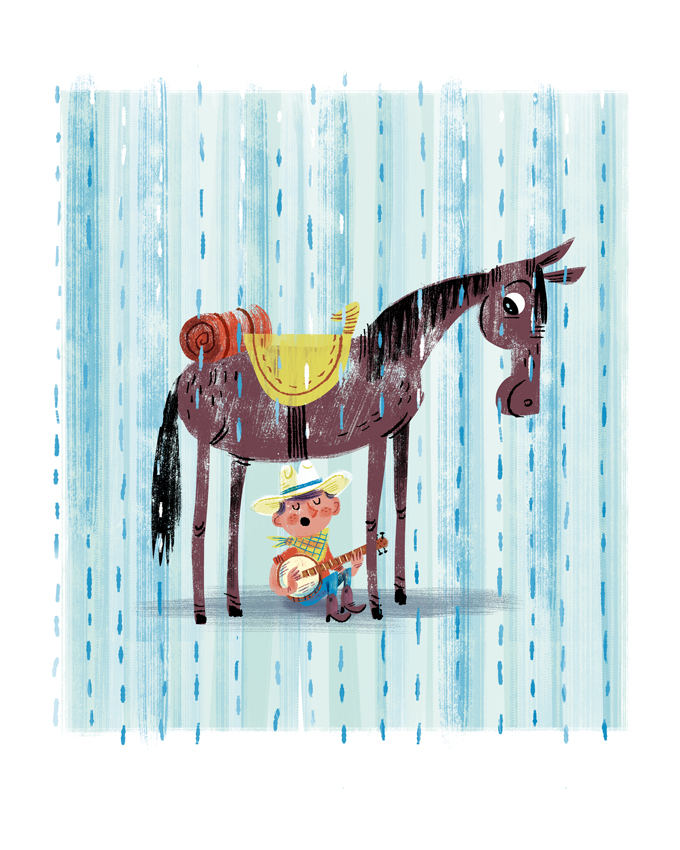 """I Got Ya Covered Pardner"" Art for Animals Fundraising Show (Leanna Lin's Wonderland)"