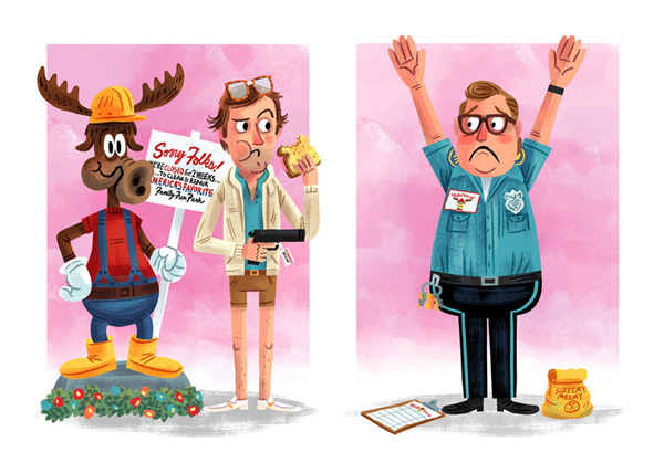 """Love for the 3rd Wheel"" / National Lampoon's Vacation Save Ferris - John Hughes tribute show (Popzilla Gallery)"