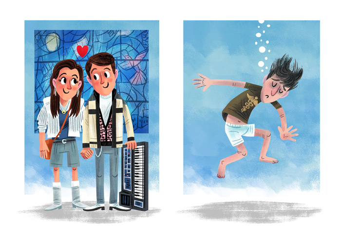 """Love for the 3rd Wheel"" / Ferris Beueller's Day Off  Save Ferris - John Hughes tribute show (Popzilla Gallery)"