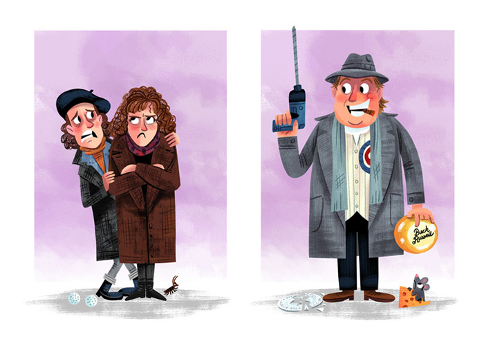 """Love for the 3rd Wheel"" / Uncle Buck  Save Ferris - John Hughes tribute show (Popzilla Gallery)"