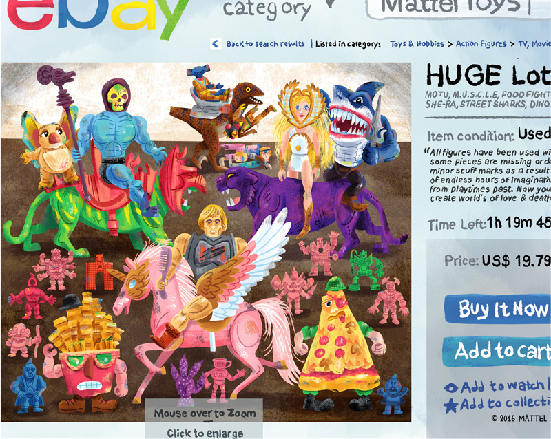 """HUGE Lot - eBay variant""  Mattel tribute show (Gallery 1988)"