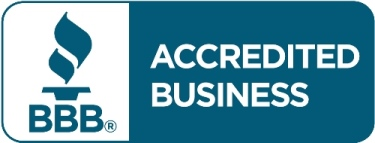 We are a Better Business Bureau Accredited Business.