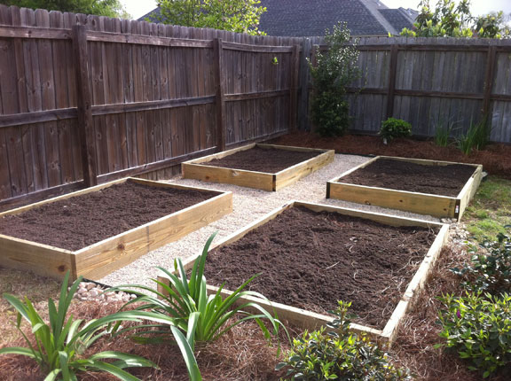 Square Foot Gardening, Greenscape Design - Baton Rouge, LA