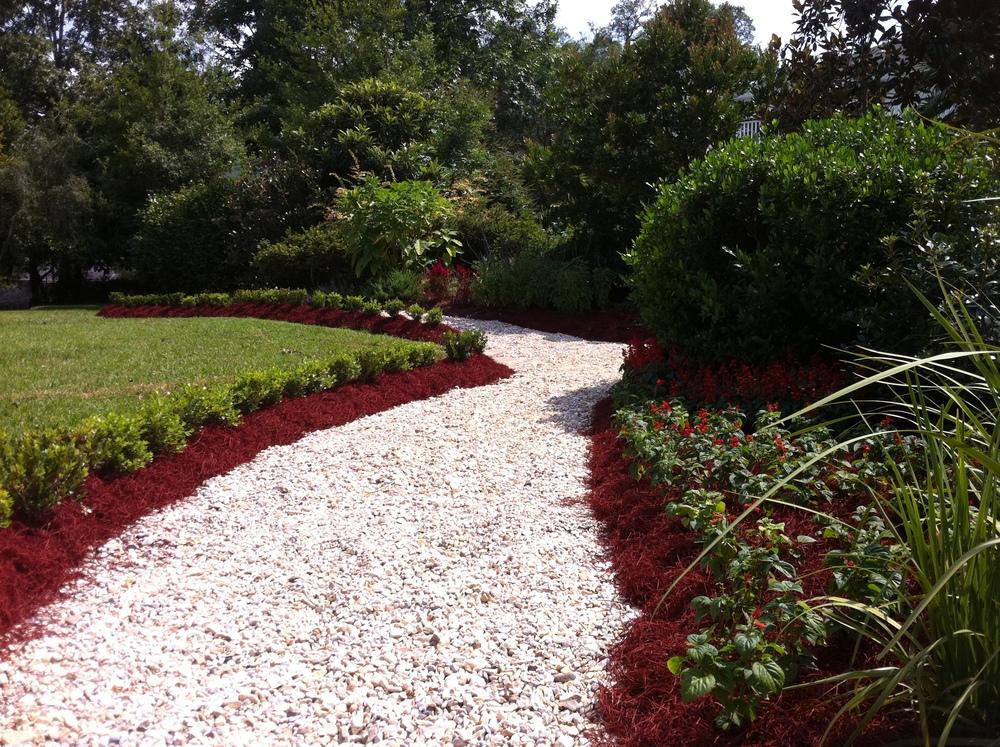 Baton Rouge Landscape Installation, Greenscape Design - Baton Rouge, LA