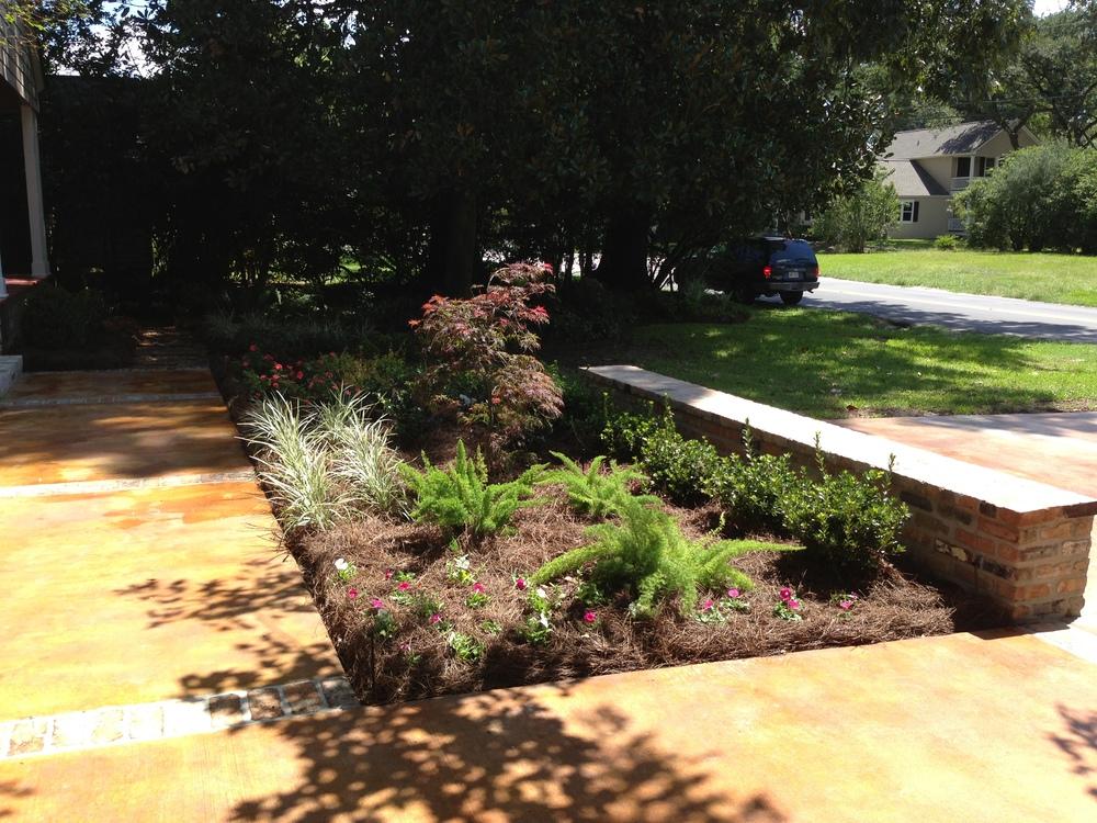 Landscape Installation, Greenscape Design - Baton Rouge, LA